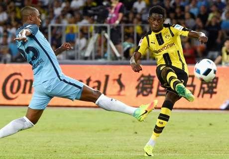 Dortmund troefde Bayern af om Dembélé