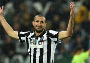 Giorgio Chiellini spielt seit 2005 für Juventus Turin