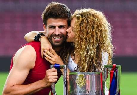 VIDEO - Shakira leeft mee tijdens Clásico