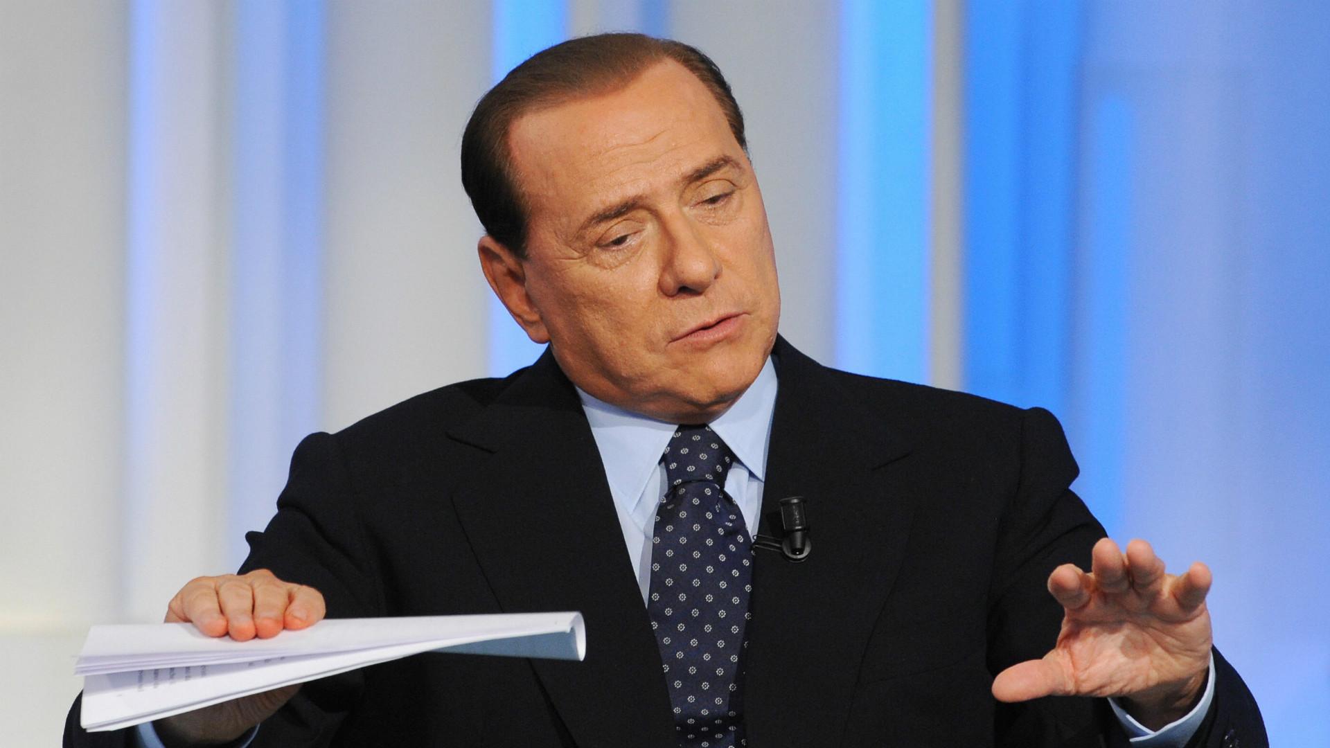 Les adieux émouvants de Silvio Berlusconi — Milan AC
