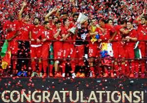 Der alte Titelträger ist auch der neue: Der FC Sevilla hat sich in einem tollen Duell gegen Dnipro durchgesetzt und die Europa League erneut gewonnen. Hier kommen die besten Bilder des Abends!