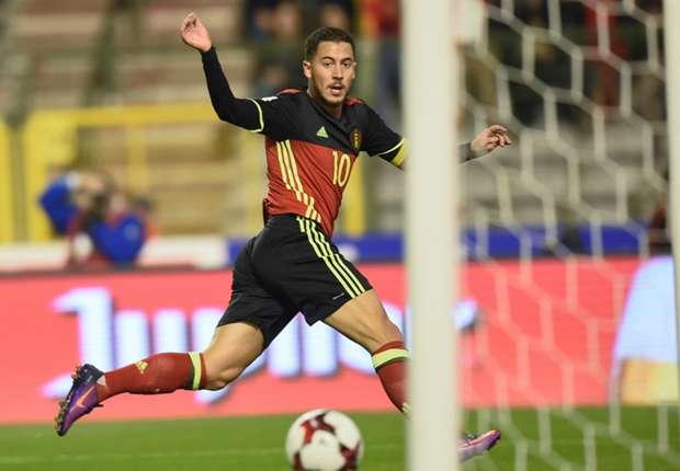 Eden Hazard Absen Bela Timnas Belgia