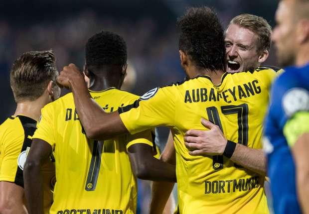 Video: Eintracht Trier vs Borussia Dortmund