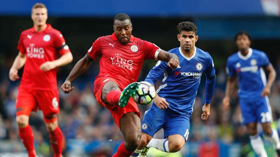 Wes Morgan Premier League Chelsea v Leicester 151016