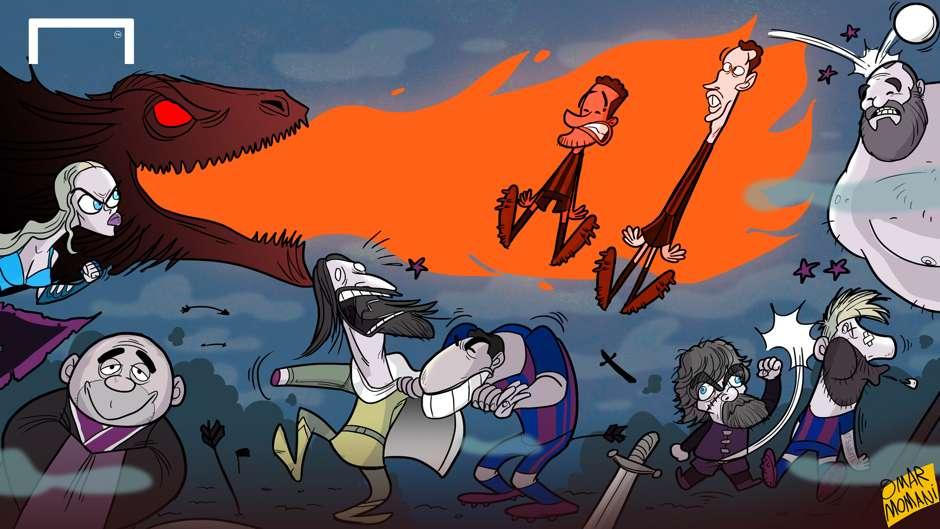 Cartoon Game of Thrones