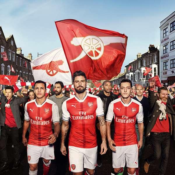 Arsenal 2016-17 Home Kit Puma