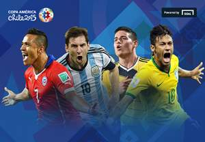 12 teams, eight cities, one trophy. Follow the 2015 Copa América draw from Viña del Mar
