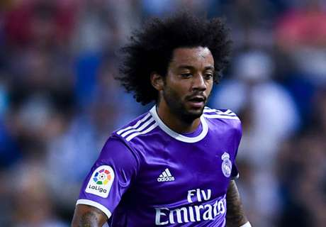 Marcelo shows off his skills in training