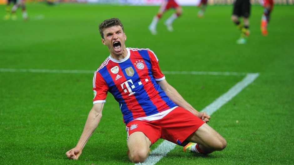 Thomas Muller Bayern Munich 17052014