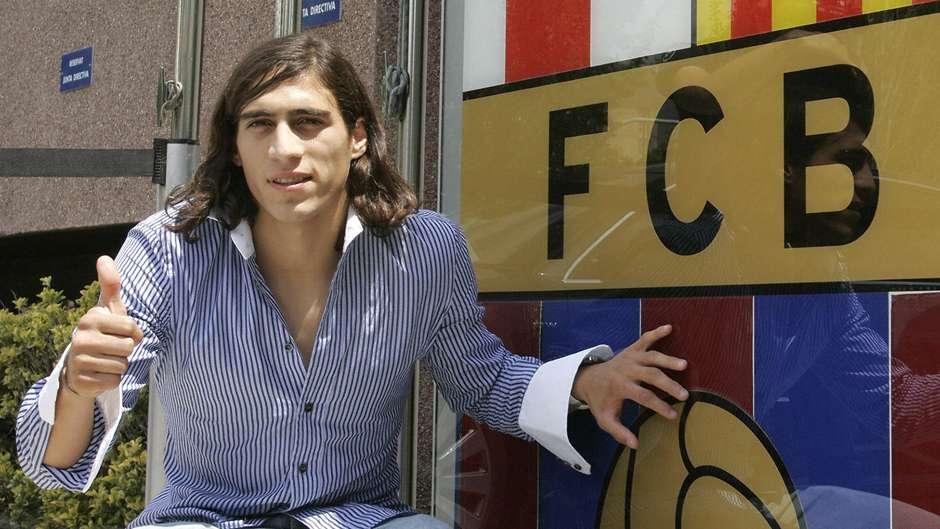 Martin Caceres Barcelona