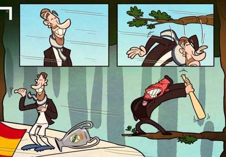 CARTOON: Ramos avoids decapitation!
