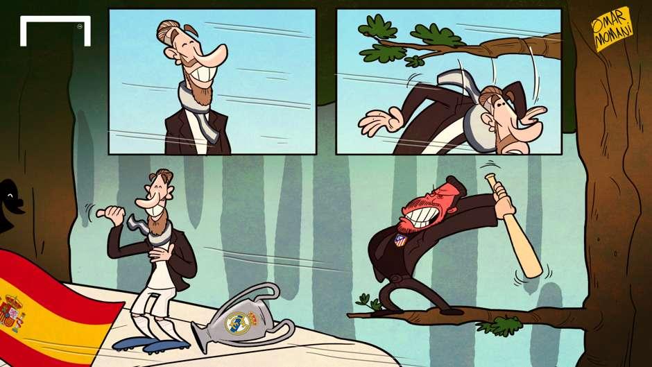 CARTOON: Ramos avoids decapitation