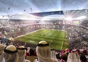 Usai turnamen tempat duduk di tingkat atas akan dilepas dan dikirim ke negara-negara berkembang yang membutuhkan infrastruktur olahraga.