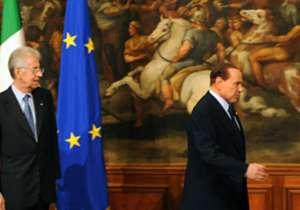 """""""Je me casse pour m'occuper de mes put**** d'affaires. Je quitte ce put**** de pays, j'en suis malade"""", avait menacé Berlusconi sans mettre ses menaces à exécution."""
