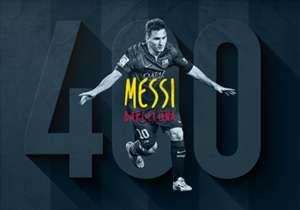 Lionel Messis Treffer gegen Valencia war der 400 Treffer für ihm im Dress des FC Barcelona. Goal zeigt bemerkenswerte Stationen des Superstars in den vergangenen zehn Jahren.