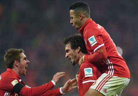 Bayern scrape home to cut deficit