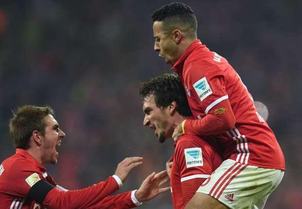 Bayern Munich 2-1 Bayer Leverkusen: Bundesliga champions scrape home win