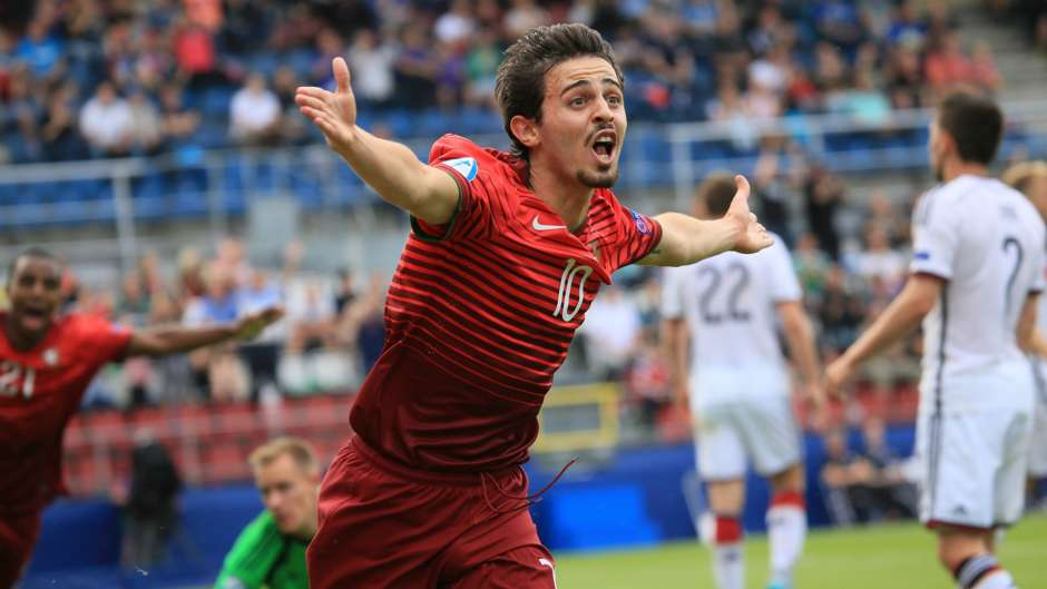 Image result for bernardo silva portugal u21