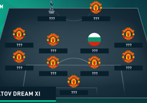 Dimitar Berbatov was asked by <em>Sky Sports</em) to name the best XI of players he has shared a dressing room with, and the Bulgarian has selected a host of stars who he played alongside at Manchester United...