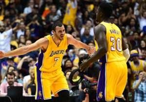 3. LA Lakers | Huidige merkwaarde: €596 miljoen