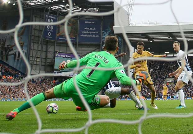 West Brom 1-1 Tottenham: Late Alli strike maintains unbeaten record