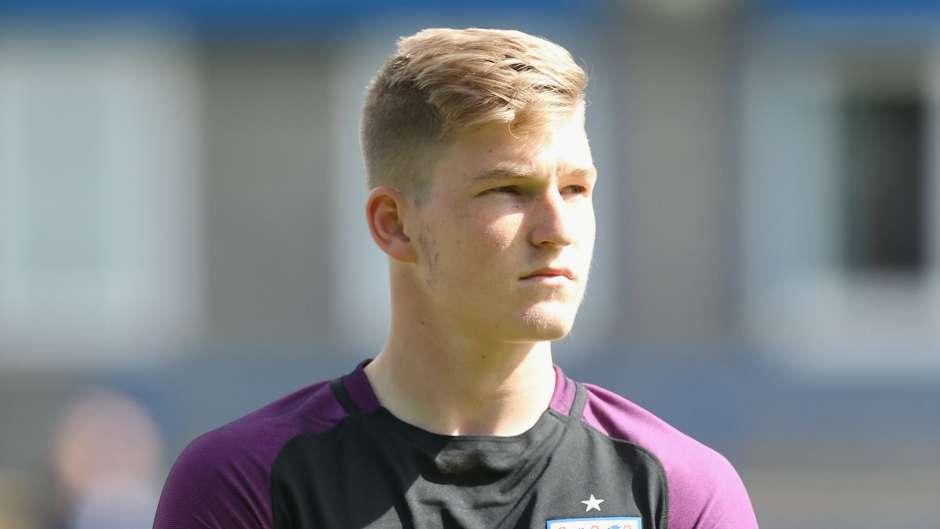 Will Mannion England U19 01092016