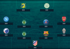 With the help of data from Opta, Goal has selected the 11 most impressive performers from this week's Champions League action.