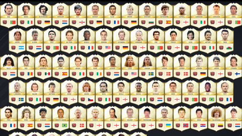 FIFA 17 Ultimate Team legends