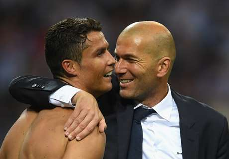 Zidane, not CR7, is Madrid's main man