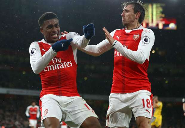 Arsenal's Iwobi glad to begin New Year with goal