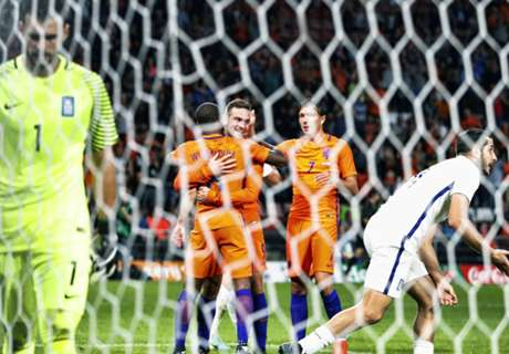 Netherlands downed by Greece