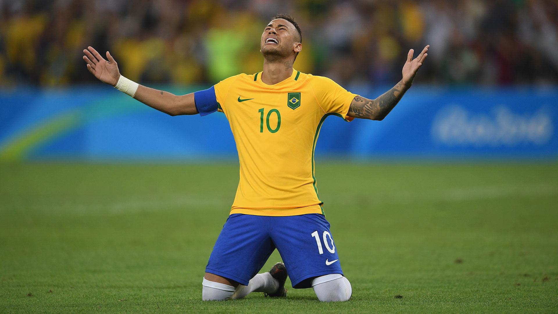 Neymar Brazil Olympic final