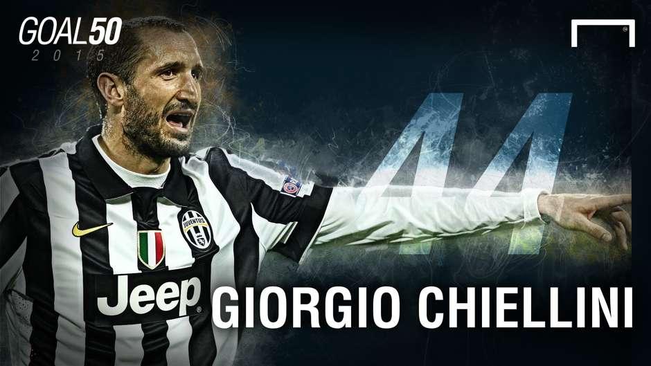44 Giorgio Chiellini G50