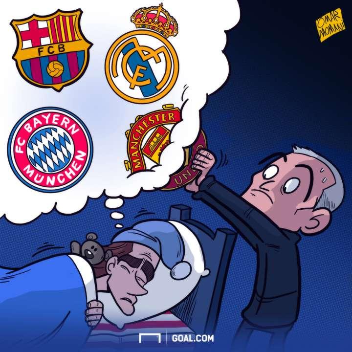 Griezmann Mourinho Cartoon