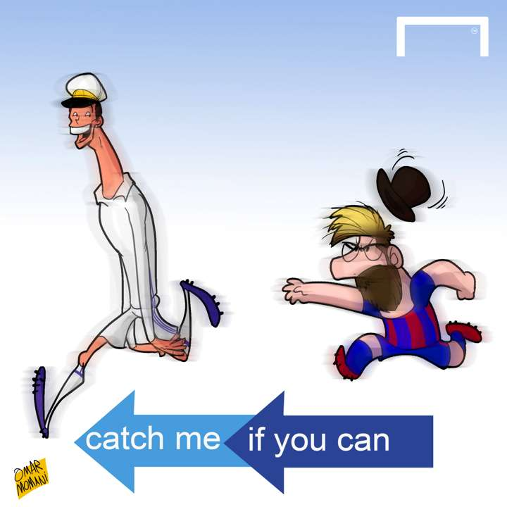 Cartoon Catch Me If You Can