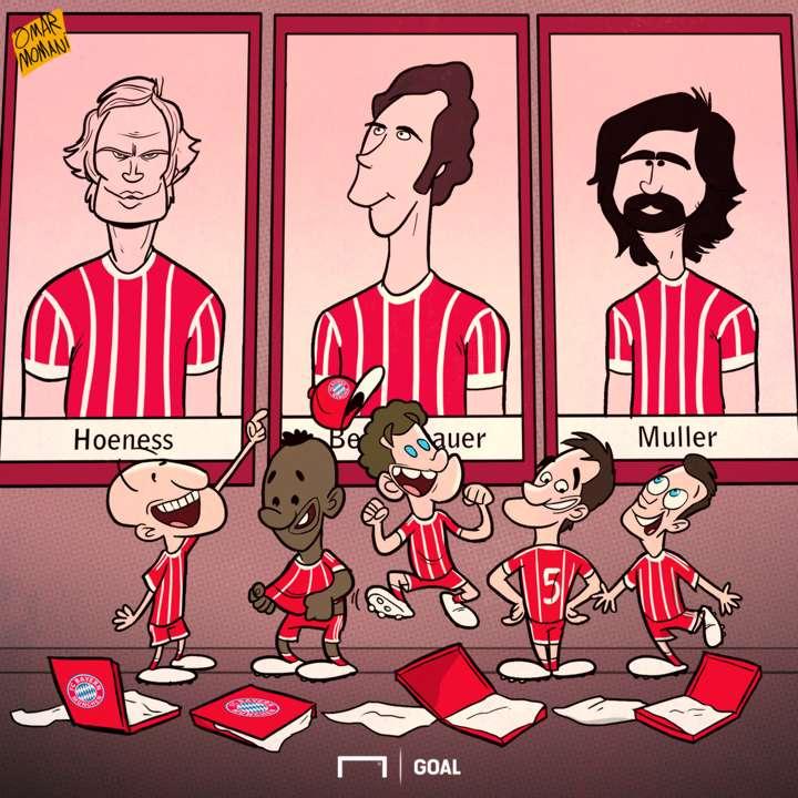 Bayern cartoon