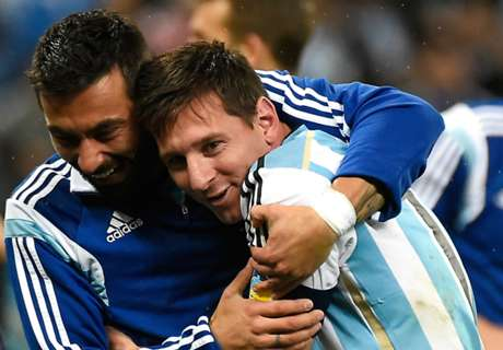 Garay determined to help Messi to glory