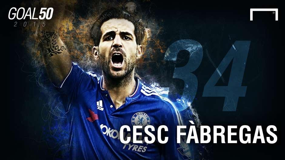 34 Cesc Fabregas G50