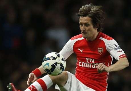 Arsenal: Rosicky fehlt mehrere Monate