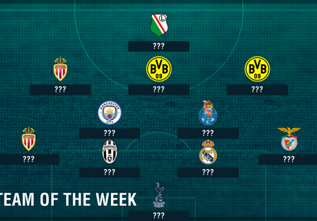 City's Silva stars in CL TOTW