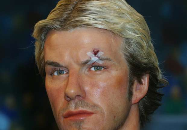 Image result for beckham fight sir alex boot