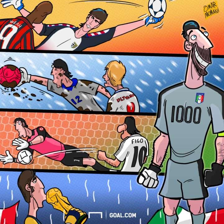 Gianluigi Buffon Cartoon 25032017