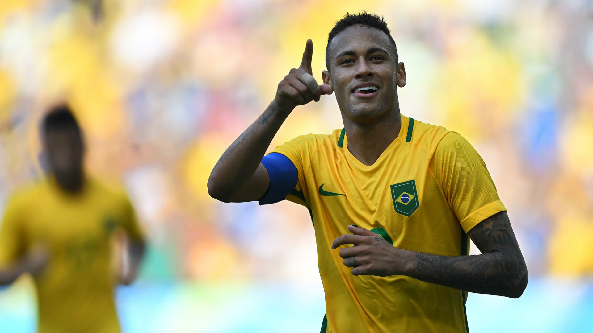 Image result for neymar yellow hair 2018