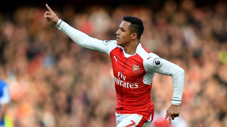 Alexis Sanches Arsenal Bournemouth