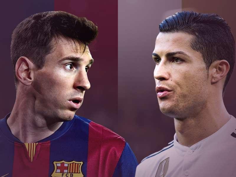 Vergleich Messi Ronaldo