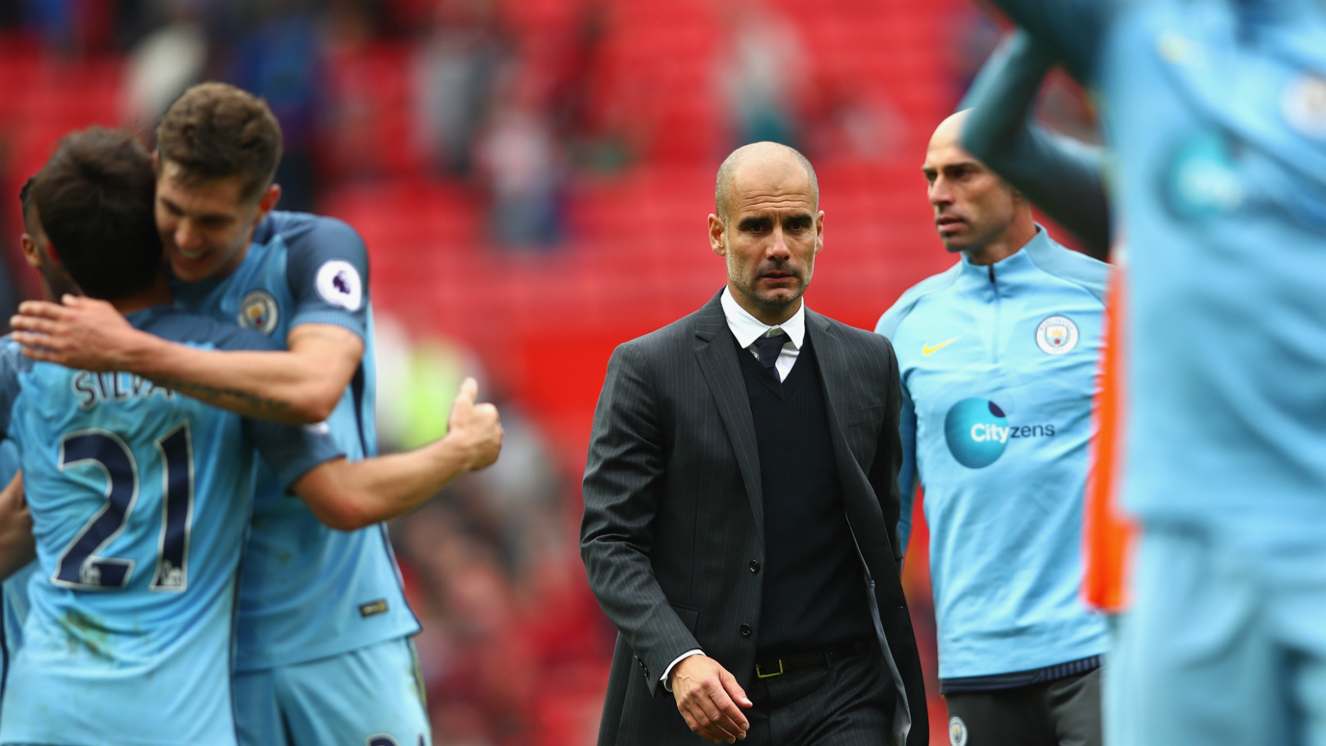 Guardiola tells Man City fans to end Champions League feud
