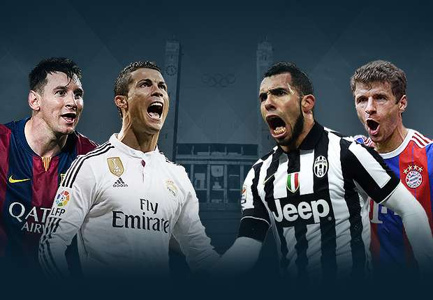 Champions League draw: Barcelona versus Bayern Munich, Real Madrid against Juventus