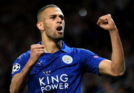 Slimani wins it for Leicester