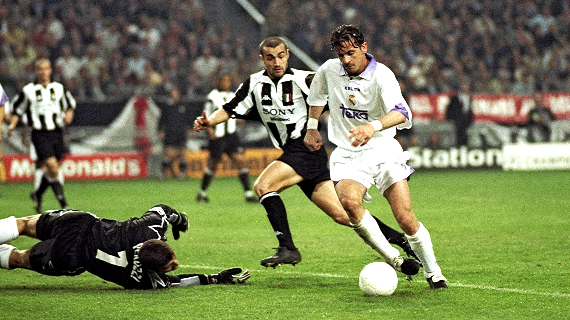 Predrag MIJATOVIC 1998 Champions League final Real Madrid ...