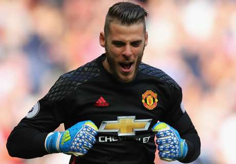 De Gea: I'm really happy at Man Utd